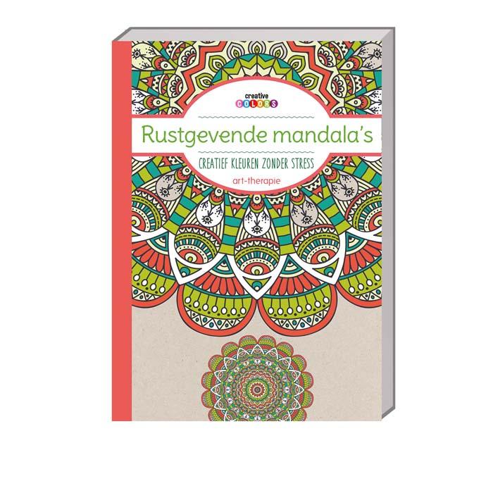perfect rustgevende mandalaus with rustgevende kleuren